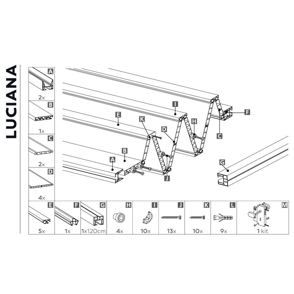 Luciana cédrus