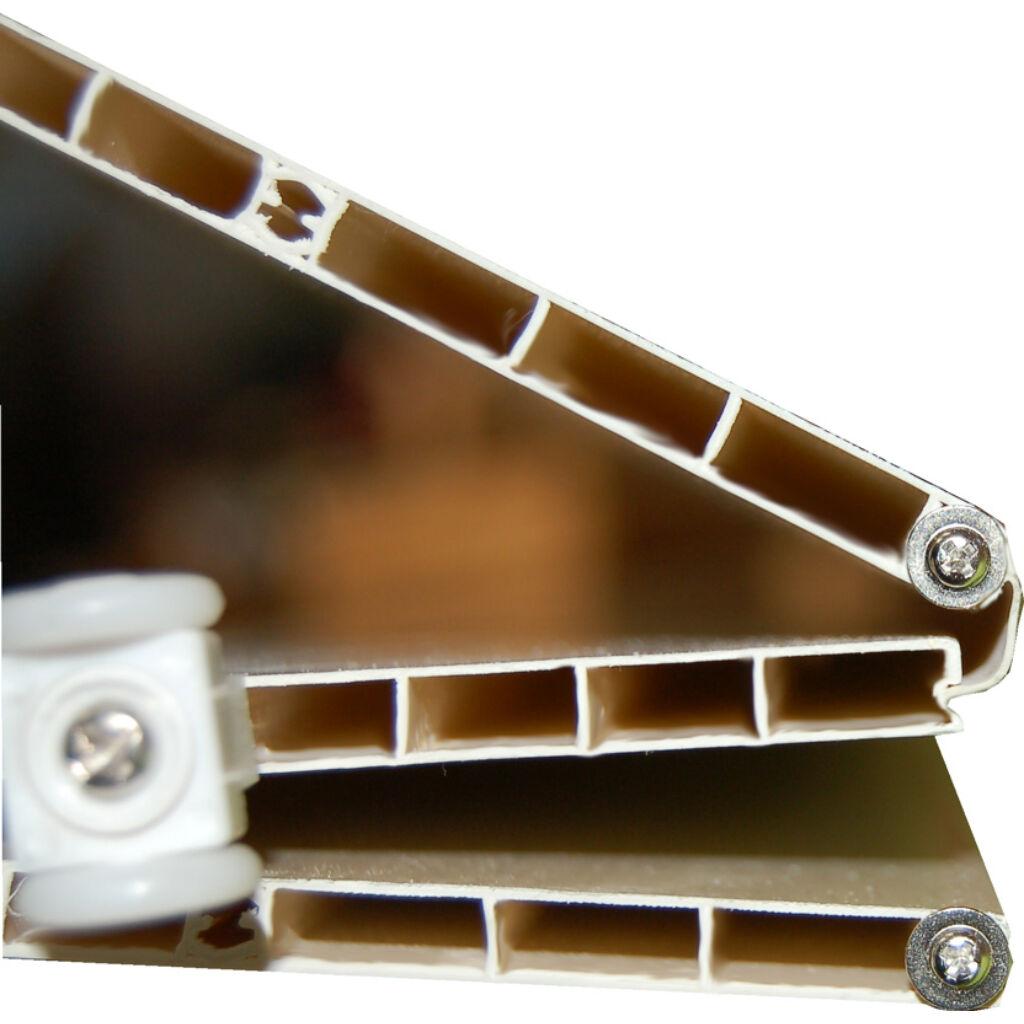 Ideal uveges harmonikaajtó wenge
