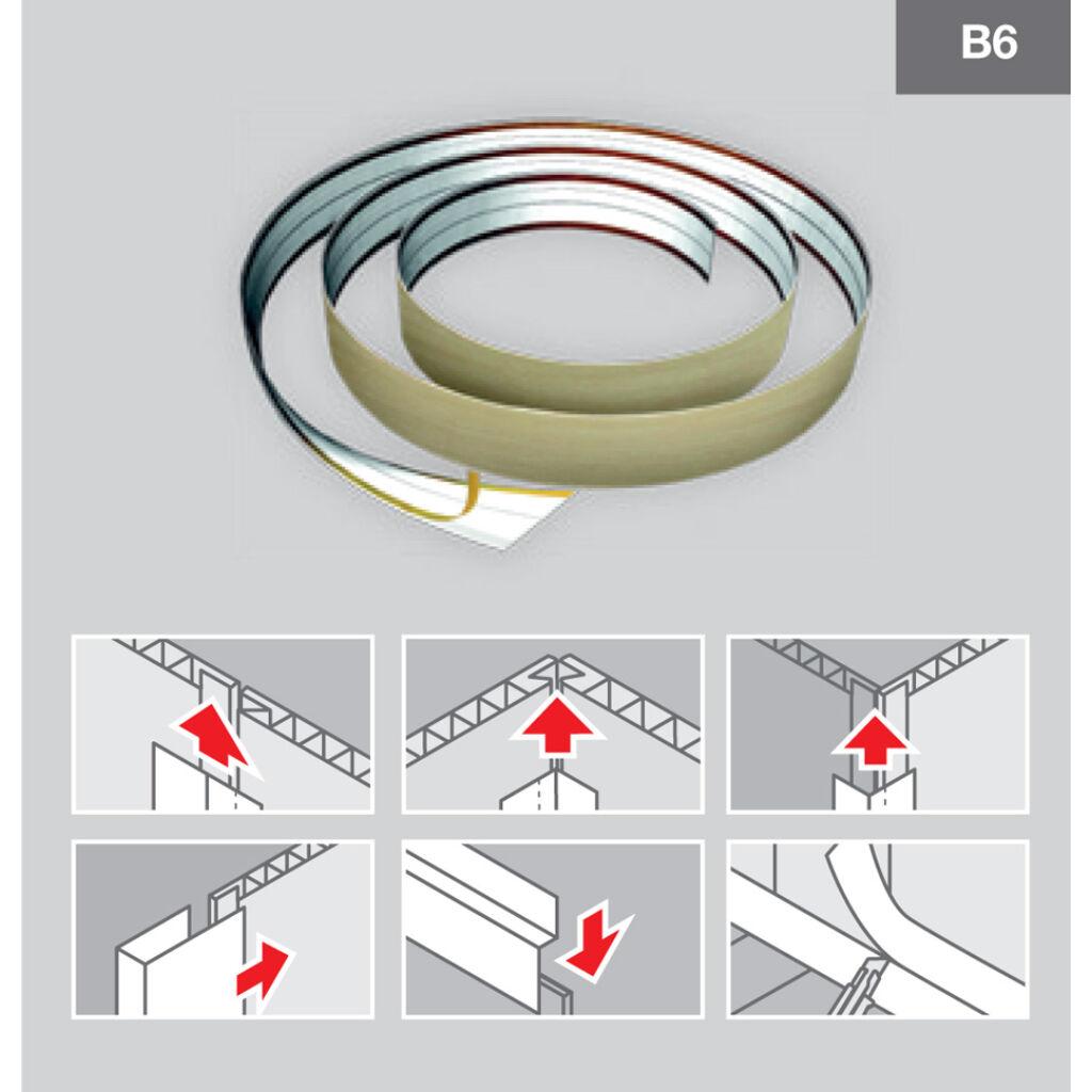 Multifunkciós profil B608 Bambo Carbon