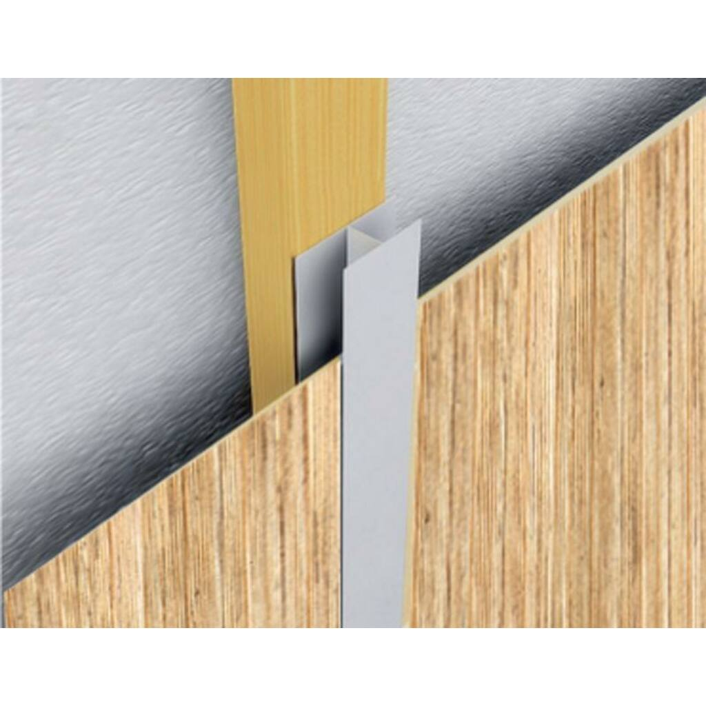 Falburkoló panel 10x300 cm Fehér