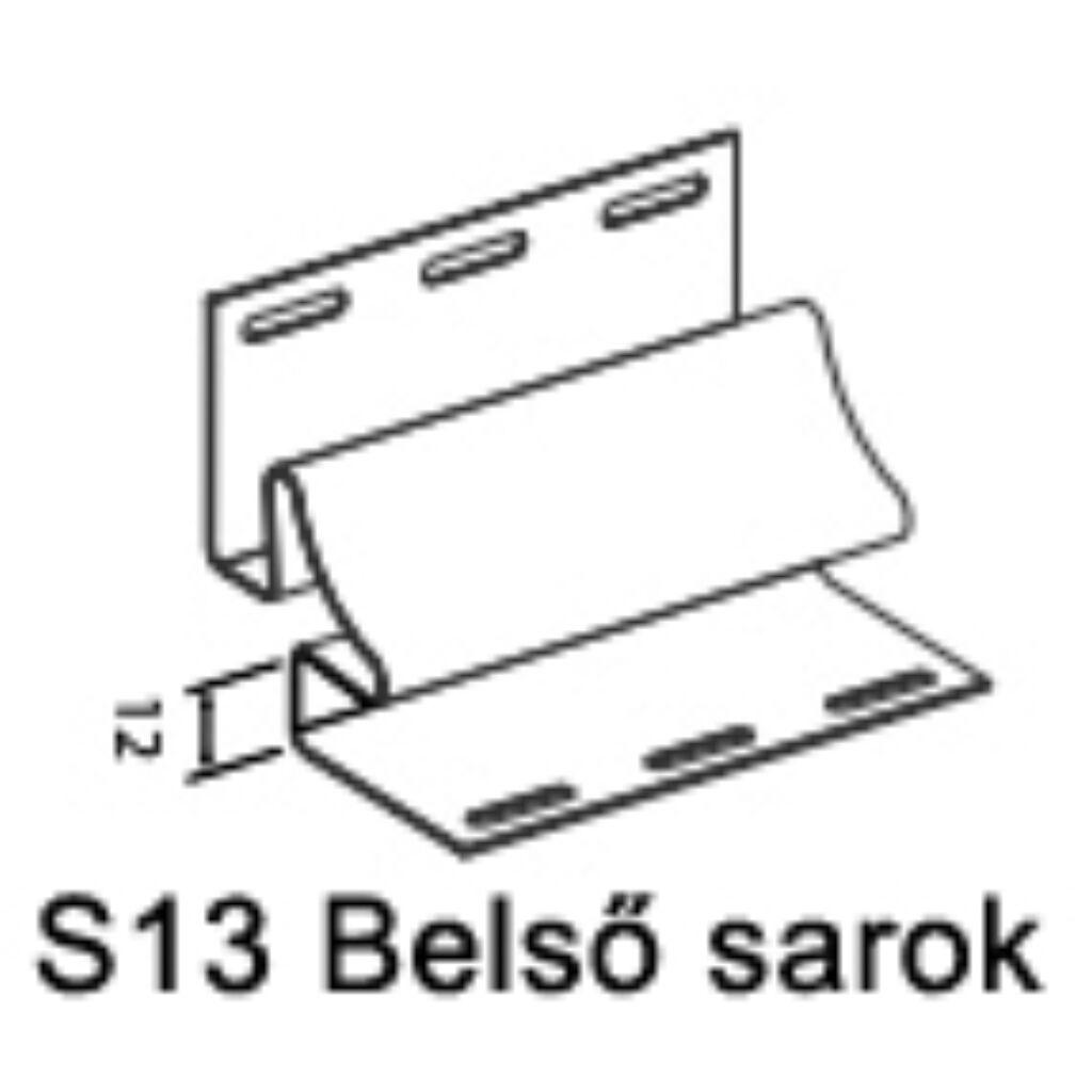 Belső sarok S-13 sárga