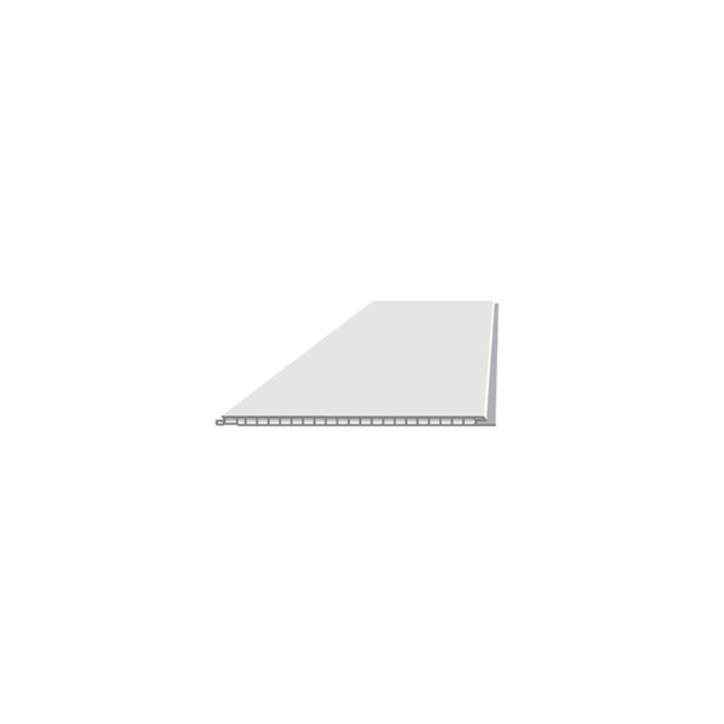 Decor falburkoló 25x270 cm * 5 mm Fehér