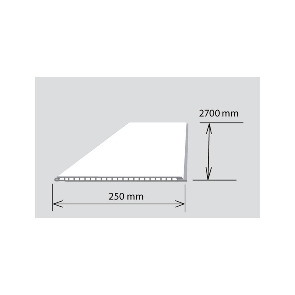 Rotang 25*270 cm 5 mm