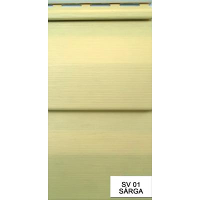 Kültéri falburkoló S-01 sárga